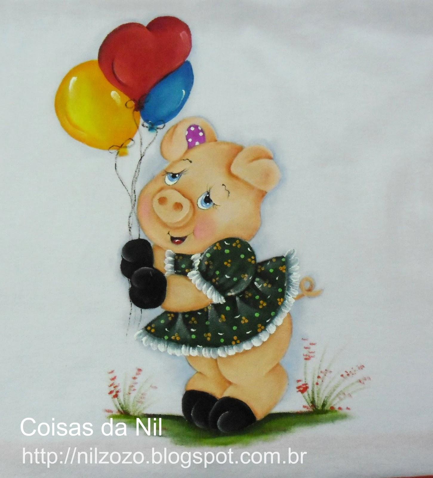 Bolsa Feita Com Pano De Guarda Chuva : Atelie cantinho da arte porquinhos pintura em tecido com