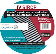 Actas Electrónicas del IV SIRCP 2012