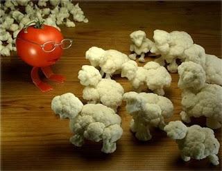 Ideas para Presentar los Vegetales, Arte para la Mesa