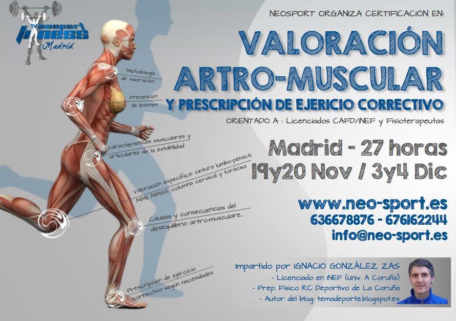 Madrid, 19 y 20 de noviembre / 3 y 4 de diciembre