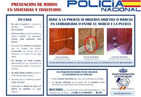 Prevención de robos en viviendas y trasteros.