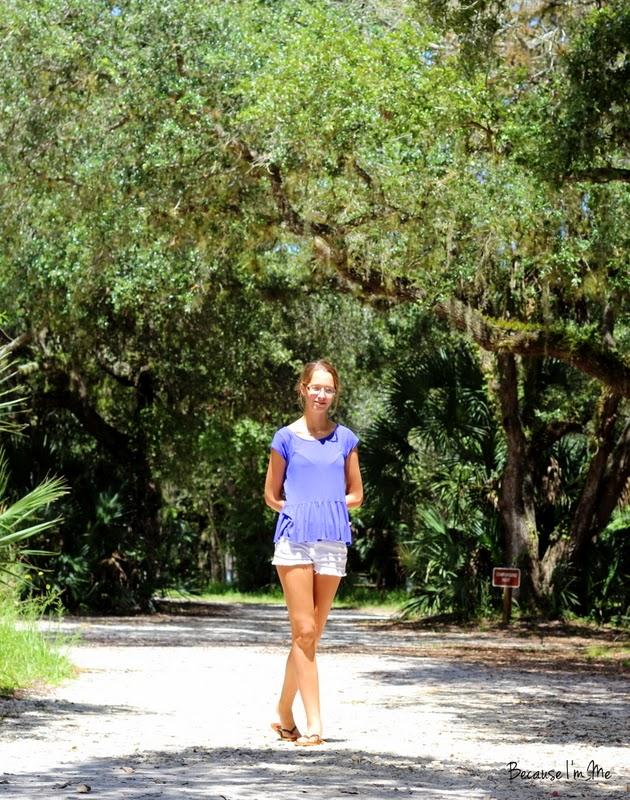Family camping and exploring at Myakka River State Park, Florida
