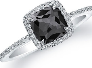 Black Diamond Engagement Rings for women