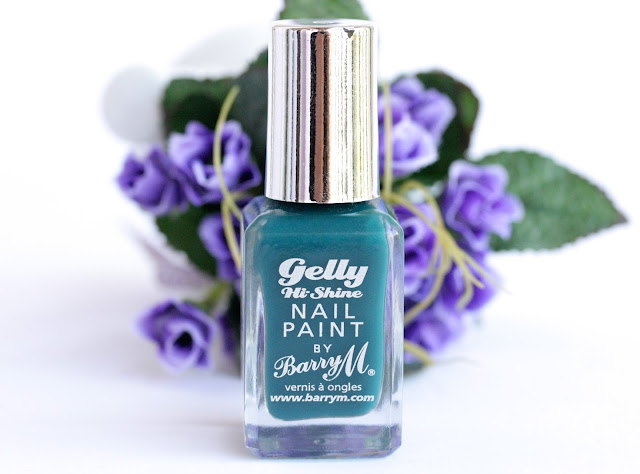 Barry M Gelly Hi-Shine Nail Paint in Watermelon