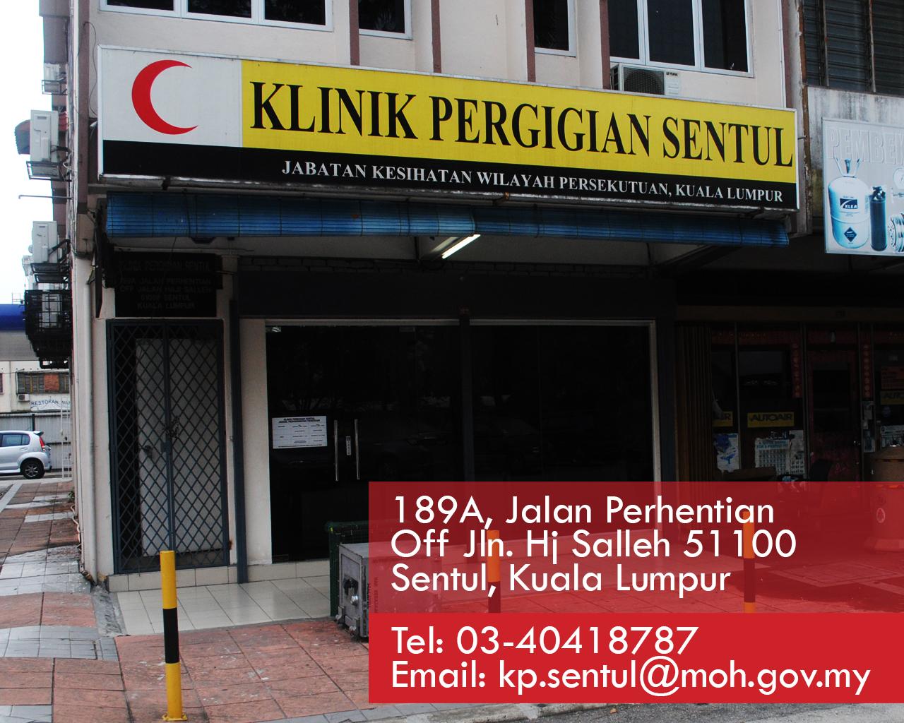 Klinik Pergigian Sentul Pergigian Jkwpkl Putrajaya