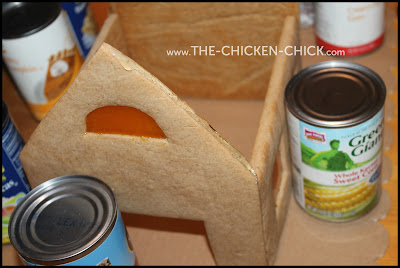 Gingerbread Chicken Coop assembly