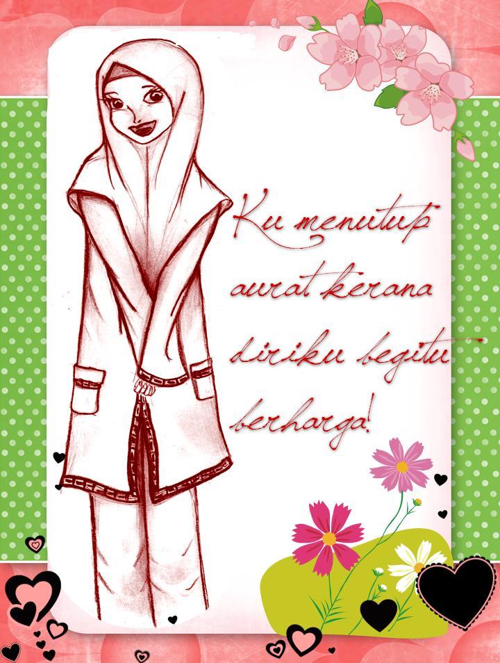 Memelihara Aurat ~ Lambang Peribadi Muslimah.