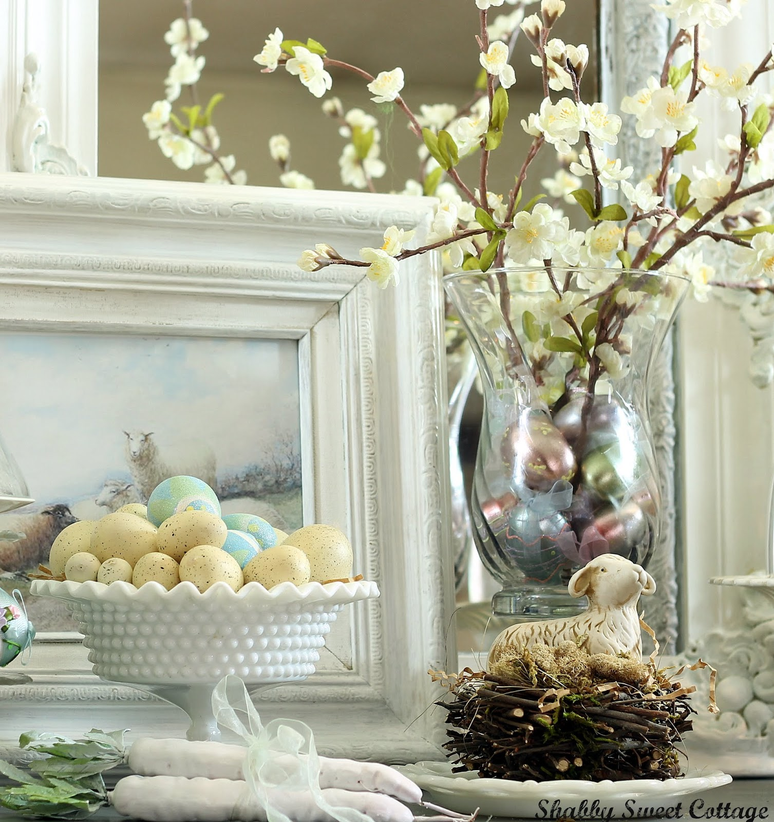 Spring Decorating: Shabby Sweet Cottage: March 2012