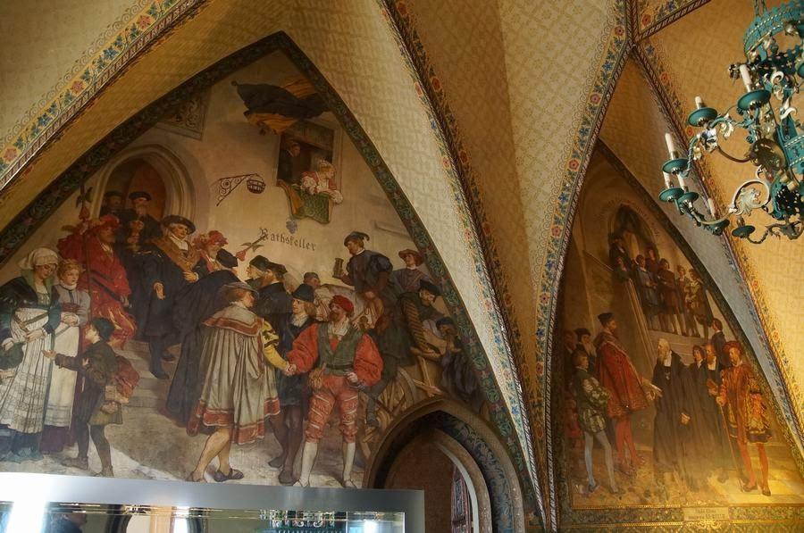 Castillo de Albrechtsberg, castillos alemanes, origen porcelana europea