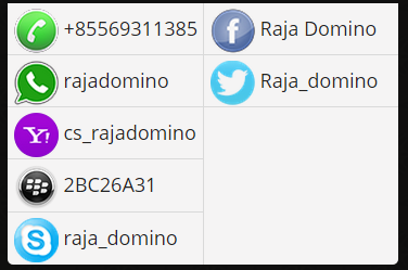 Rajadomino