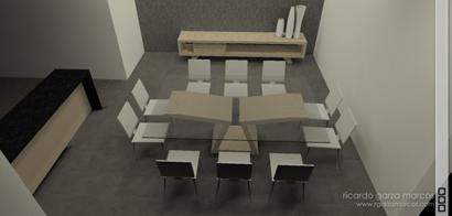 glass table design