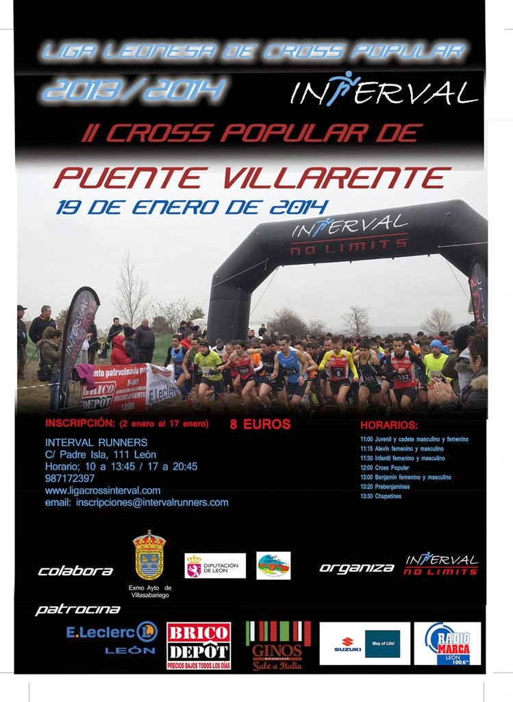 inscripcion cross puente villarente