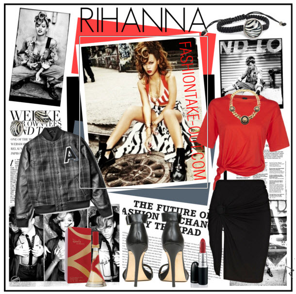 Celebrity Fashion Style: RIHANNA Offers an Edge on Fashion