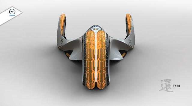 Mazda Kaan, koncept, japoński