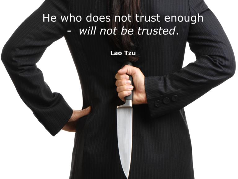 Trust Quotes Lao Tzu