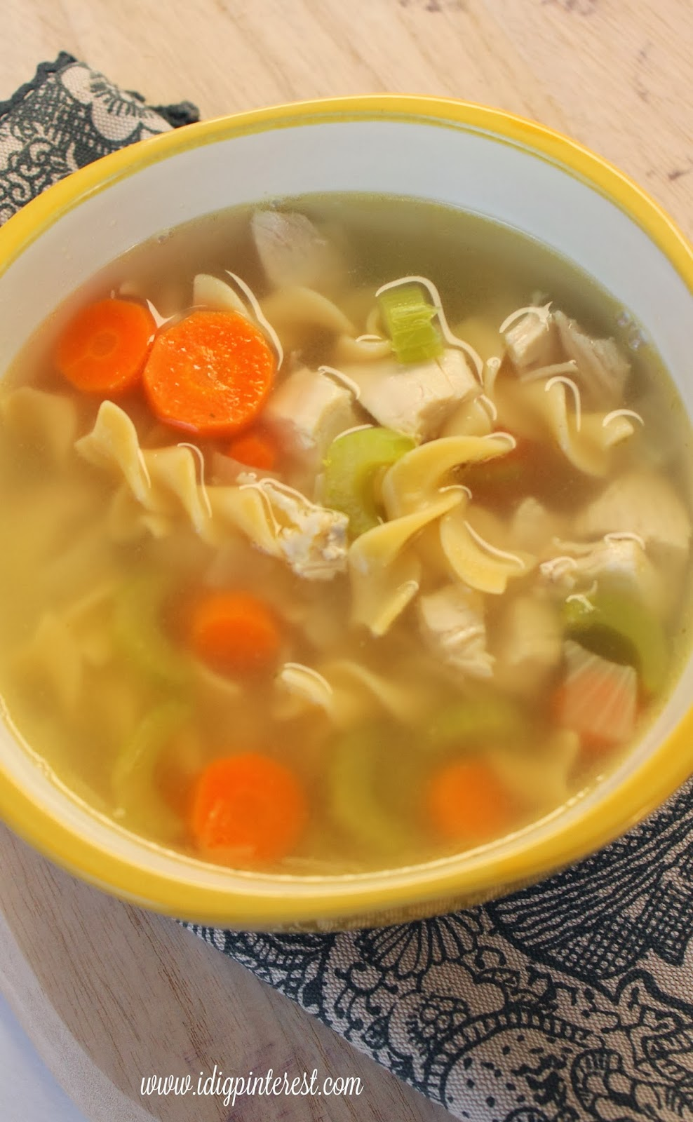 Dig Pinterest: Secret's Out Perfect Chicken Noodle Soup
