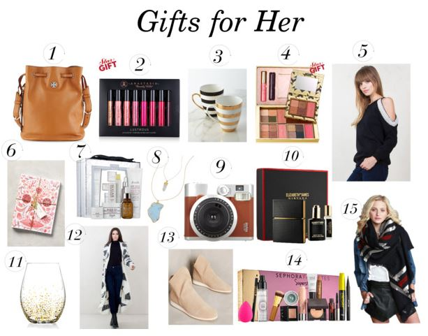 Hers+His Holiday Gift Guide 2015 - The Daily Fashion and Beauty News
