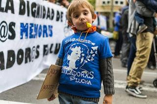 """""""Resistimos el cansancio de 9 meses de huelga ante el silencio y la incapacidad..."""""""