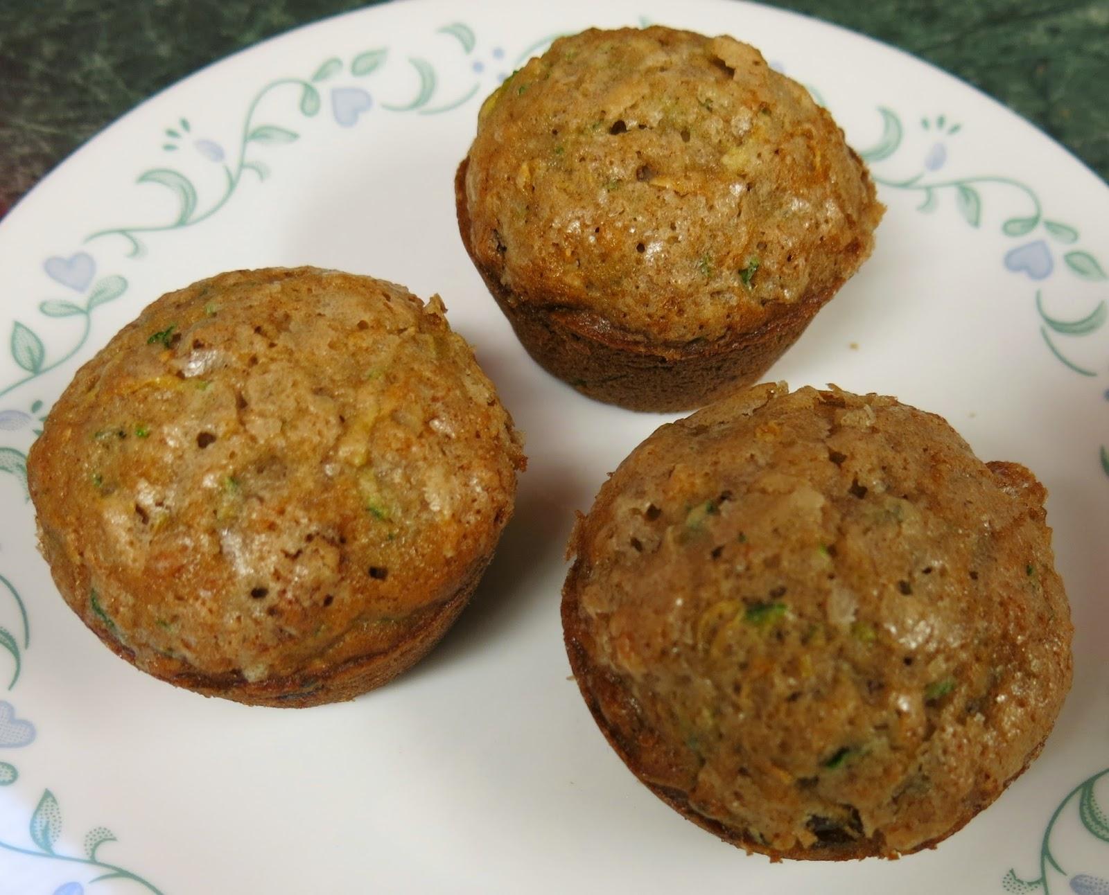 morning glory muffins - zucchini, coconut and golden raisin muffins