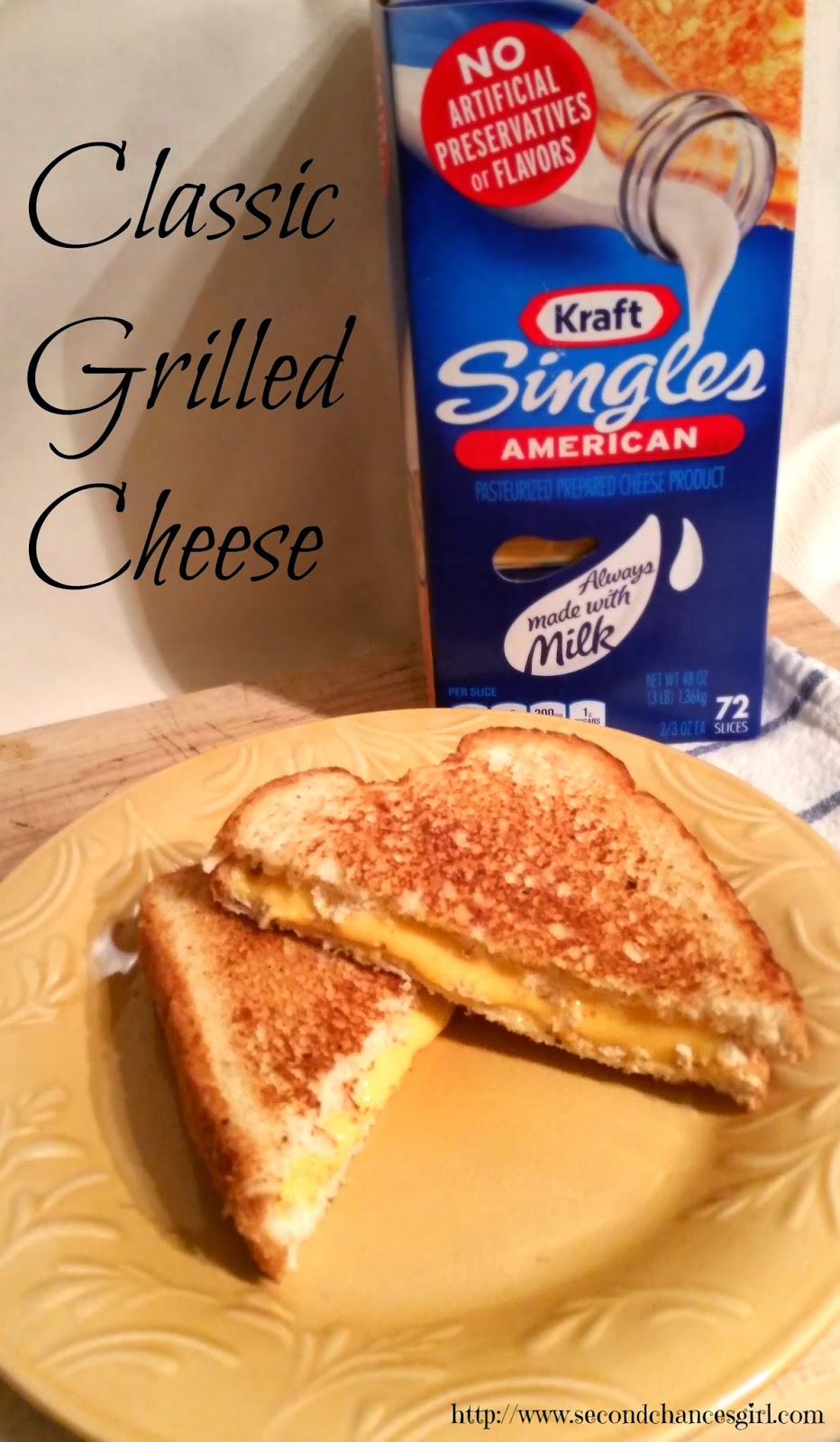 Classic Grilled Cheese #ComidasFaciles #shop