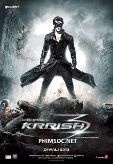 Xem Phim Siêu Nhân Ấn Độ – Krrish 2013 - Krrish 2013 Full