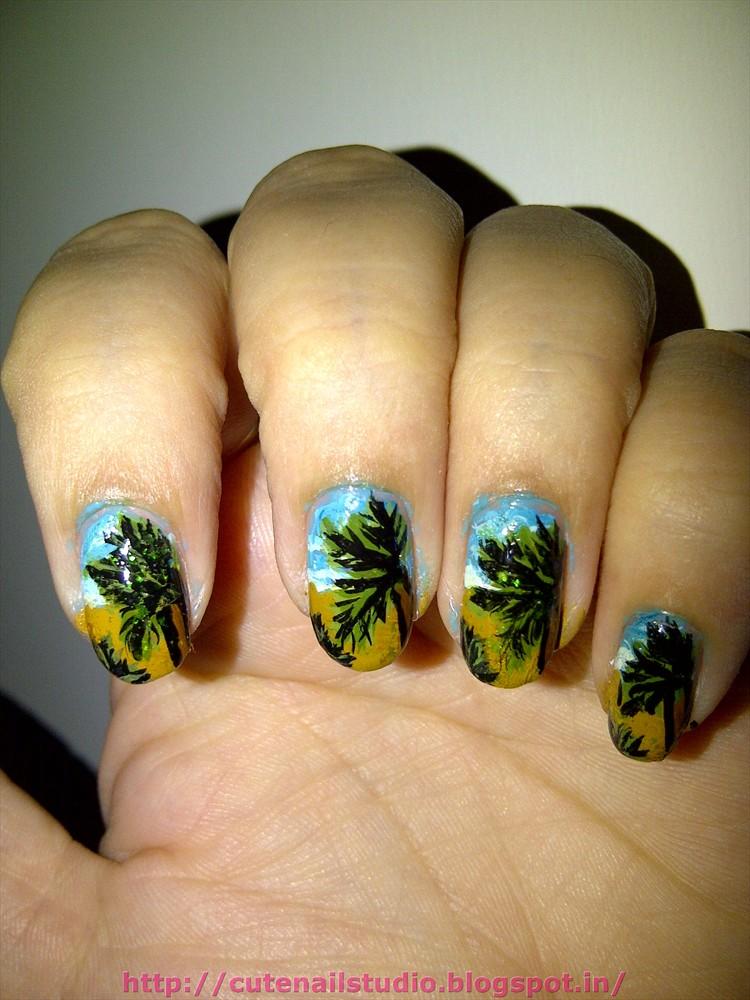 Cute Nails Summer Challengeday3island Nails