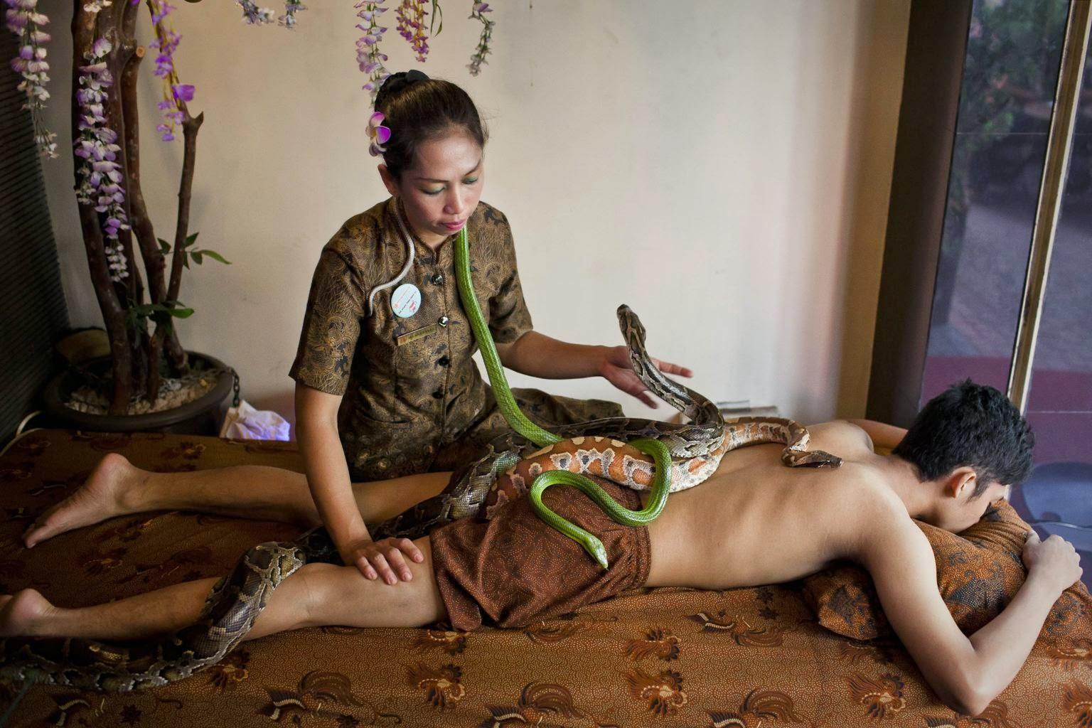 Смотреть необычный массаж ви 3 фотография