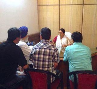 GTA Met Minister Smriti Zubin Irani - Demands Central University in Darjeeling