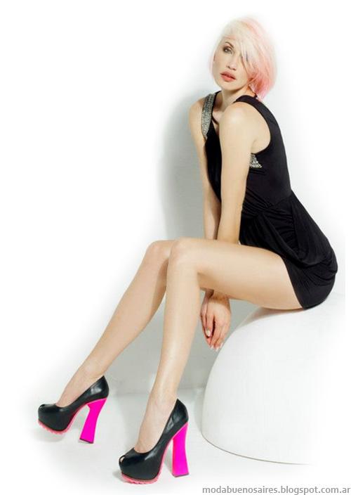 Luciano Marra primavera verano 2013. Zapatos y sandalias moda 2013.