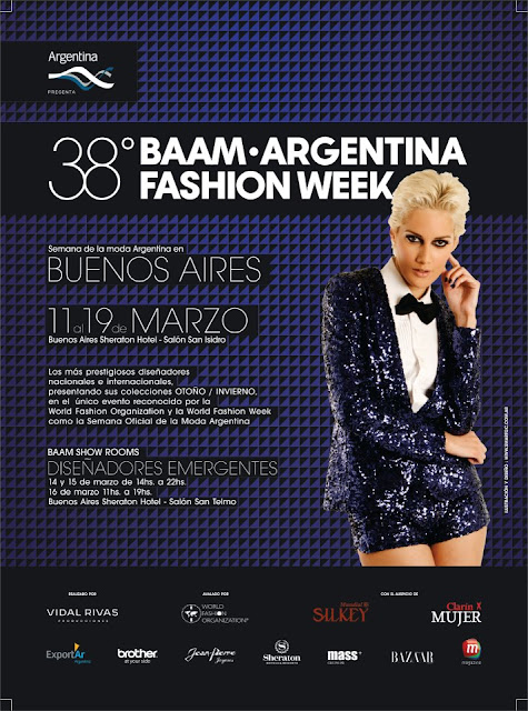 Baam 38 Argentina Fashion Week Moda 2013