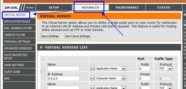 how to open multicast dns port