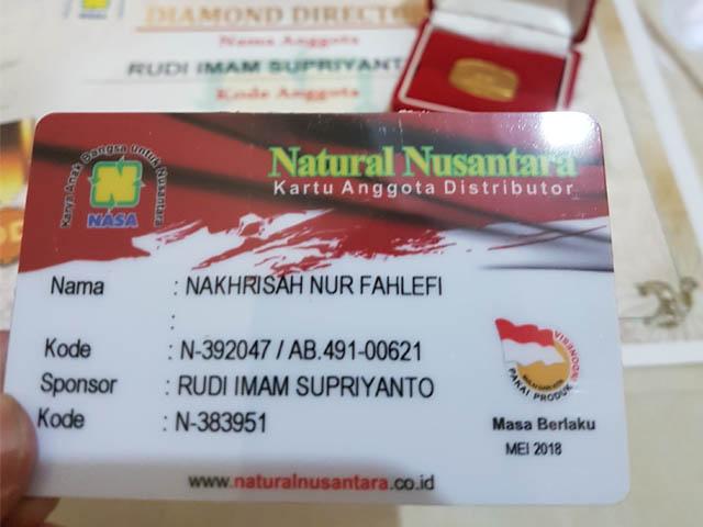 Kartu ID Distributor Resmi