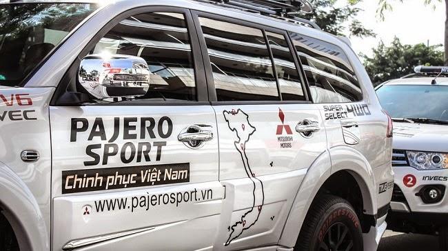 Hành trình Pajero Sport chinh phục Việt Nam