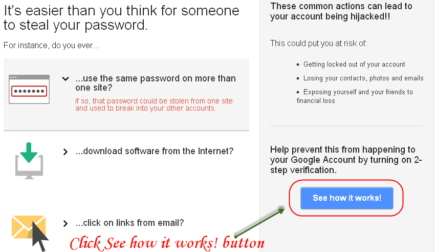 2-Step Verification by google