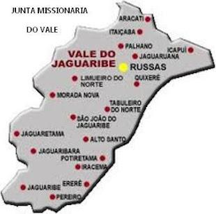 CIDADES DO VALE DO JAGUARIBE