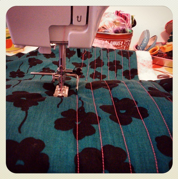 Late night quilting...
