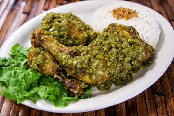 Resep Ayam Penyet Sambal Ijo Mantap