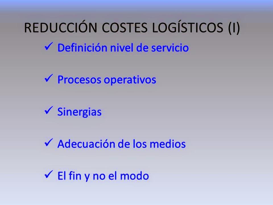 www.gonzalogarciabaquero.com analiza el decalogo de la reducción de costes logísticos