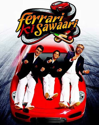 Poster Of Bollywood Movie Ferrari Ki Sawaari (2012) 300MB Compressed Small Size Pc Movie Free Download worldfree4u.com
