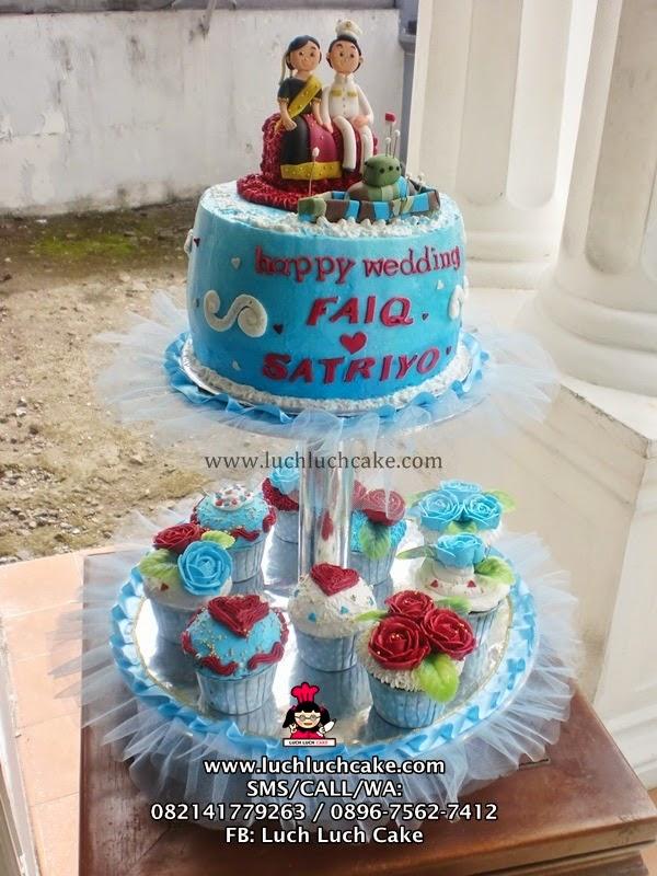 Wedding Tier Cupcake dan Kue Tart Daerah Surabaya - Sidoarjo