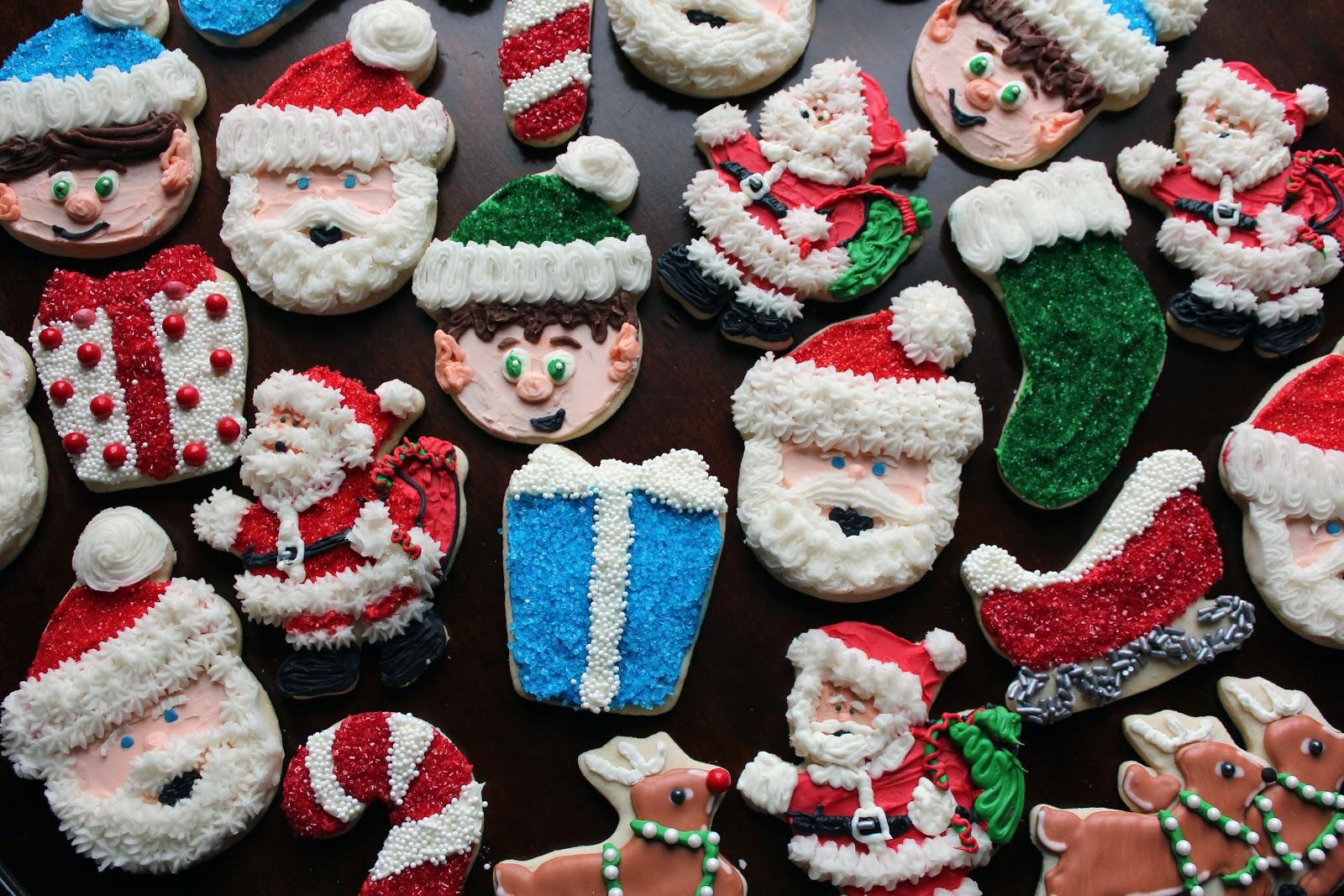 Worth Pinning: Christmas Sugar Cookies for Santa