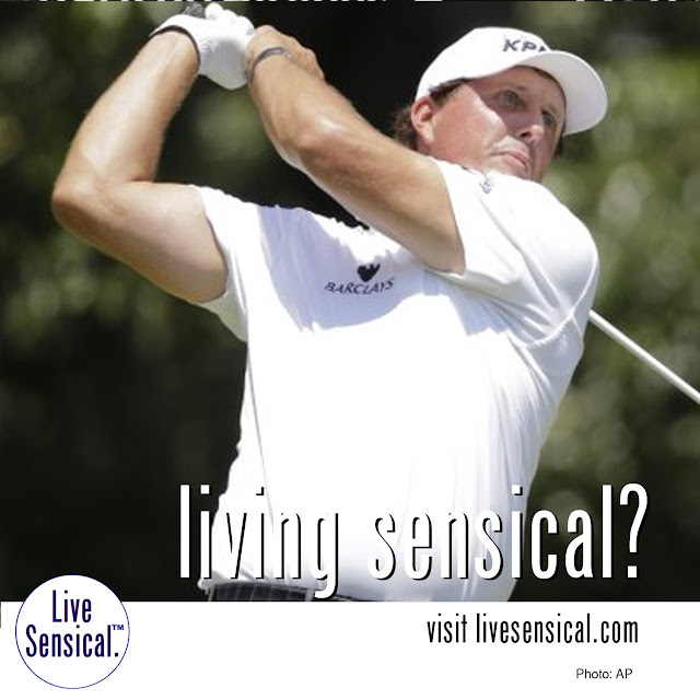 Phil Mickelson - Living Sensical? Visit http://livesensical.com