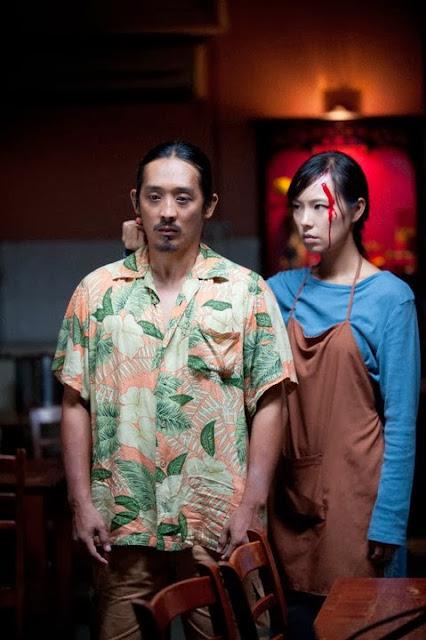 Xi Yu (Mandy Chen) killed the man to disturb her family - Claypot Curry Killers 恨之入味