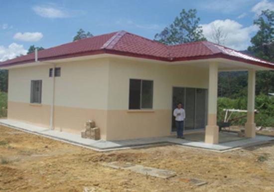 Rekabentuk Rumah Mesra Rakyat 1Malaysia