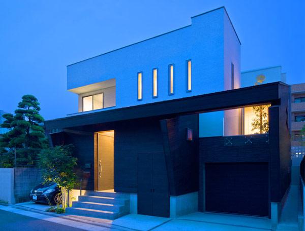 Hogares frescos arquitectura japonesa moderna casa u3 for Casa moderna and design