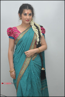Archana (Veda) Latest Pictures in Saree at Maha Bhaktha Siriyala Audio Release ~ Celebs Next