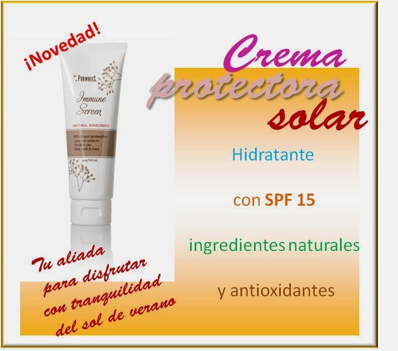 Crema Protectora Solar Frownies