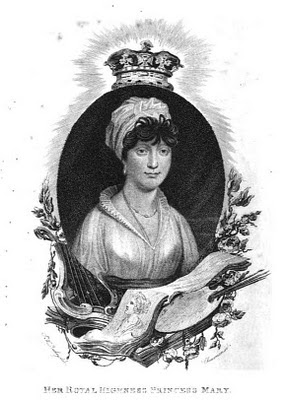 Princess Mary  from La Belle Assemblée (1816)