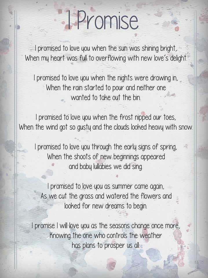 i promise poem thousands and millions