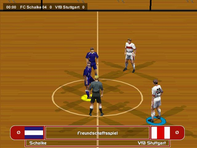 Fifa 98 6 on 6 indoor match